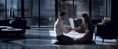 fifty shades darker film scenes fifty shades darker extended trailer released abc news