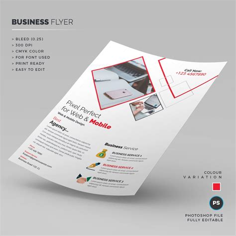 white business flyer template 000239 template catalog