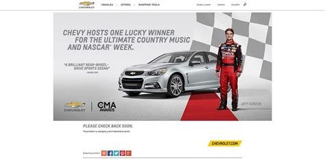 Win Your Chevy Sweepstakes - winyourchevy com win the 2015 chevrolet ss sweepstakes
