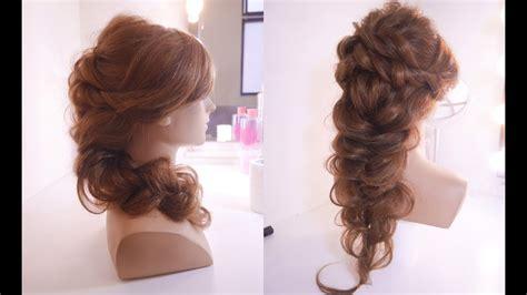 mermaid braid hairstyle tutorial youtube