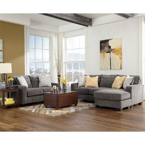 Yellow Living Room Set Hodan Marble Living Room Set Grey Yellow Sectional Organization Houses And Cleaning
