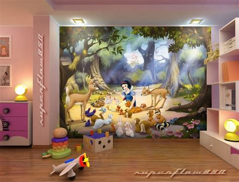 disney wallpaper room decor how to decorate disney princess bedroom set for your