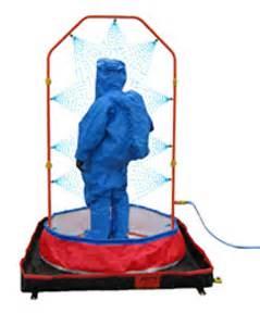 portable decon shower firetak decon u shower
