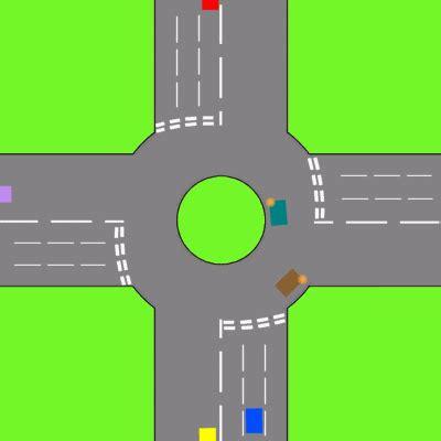 carrefour giratoire — wiktionnaire