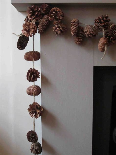 diy decorations with pine cones 10 diy pine cone decorations the glitter in my tea