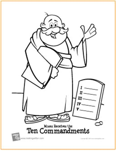 free printable ten commandment coloring pages