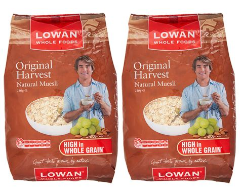 Original Harvest Muesli 1kg Lowan 2 x lowan original harvest muesli 750g ebay