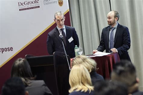 Degroote Mba Time by Foyston News