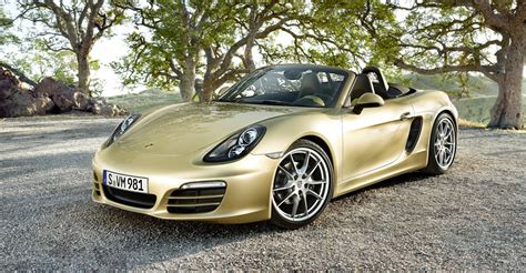gold porsche boxster shopping for a car comprehensive option checklist