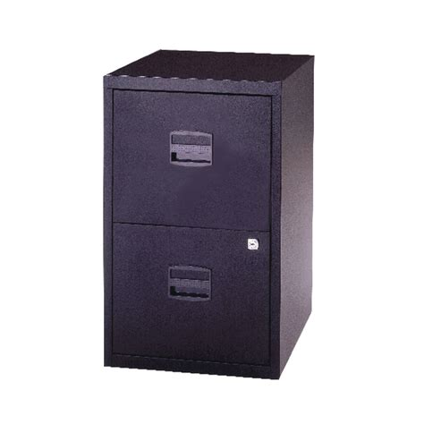 Bisley A4 2 Drawer Filing Cabinet by Bisley 2 Drawer Lockable Black A4 Personal Filing Cabinet