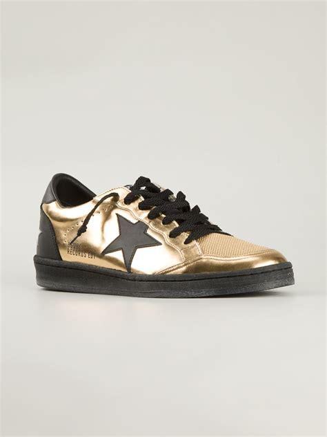 golden goose deluxe brand sneakers golden goose deluxe brand sneakers in gold for