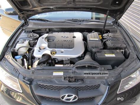2007 hyundai sonata 2 0 crdi gls leather car photo and specs