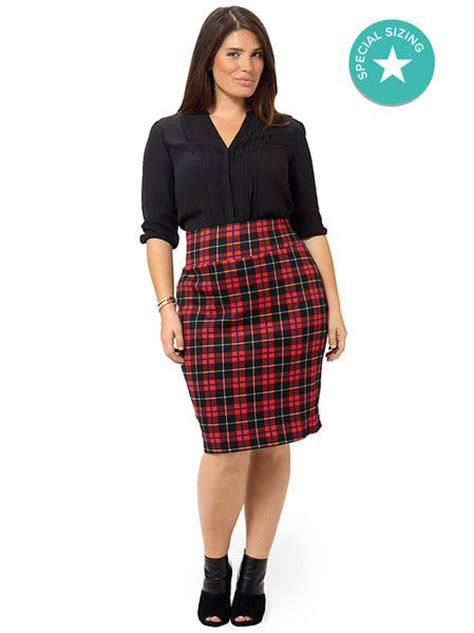 Skirt Candara Size S M L Xl By Thaluna tartan skirt by city chic available in sizes xs s m l and xl city chic