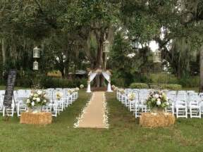 Backyard Weddings On A Budget by An Eventful Week Runners Wedding And Outdoor Wedding