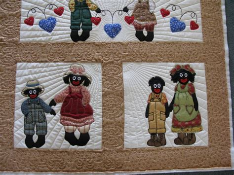 pattern for fabric golliwog long arm machine quilting picture gallery