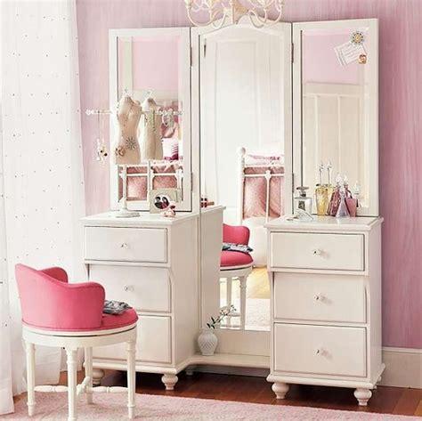 Vanity Pink by Deco Decor Pbteen Pink Vanity Image 789 On Favim