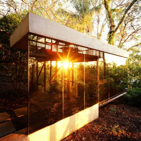 Slope Ceiling modern nature house in brisbane australia by