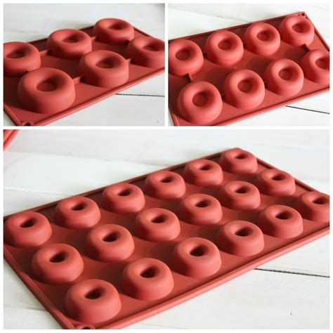 Silicone Donuts Mold silicone donut doughnut baking cake chocolate soap