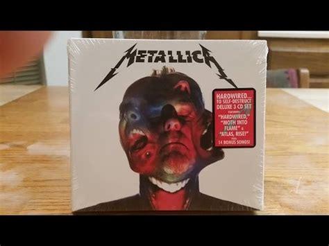 Cd Original Metallica Hardwired To Self Destruct Import metallica hardwired to self destruct 3 cd deluxe edition unboxing