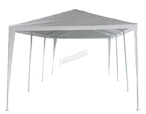 gazebo white 3m x 9m white waterproof outdoor garden gazebo tent