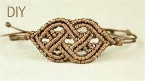 Macrame Celtic Knots - celtic style macrame bracelet