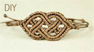 Celtic Style Macrame Bracelet   YouTube
