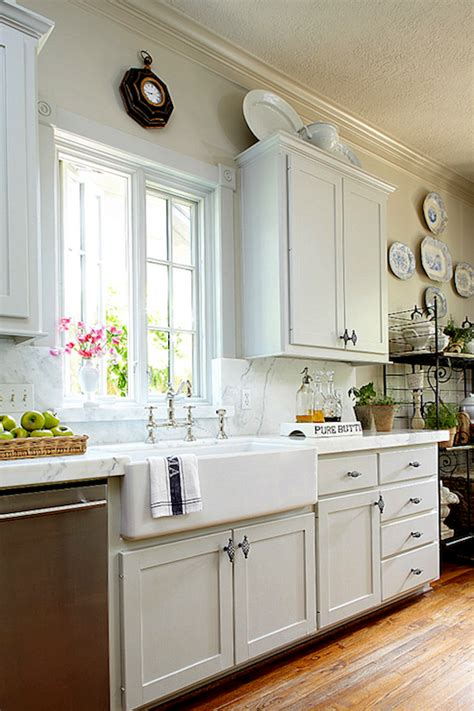 house beautiful ocean inspired kitchen urban grace french kitchen farmhouse sink design ideas