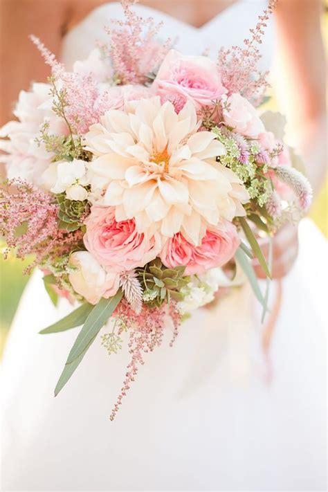 Pink Flowers Wedding by Pastel Pink Wedding Flowers Chwv