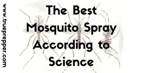 best mosquito spray the best mosquito spray according to science trueprepper