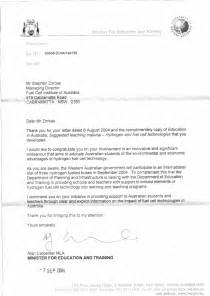 Support Letter For Housing Nsw Stephen V Zorbas Achievements Year 1995 To Year 2014