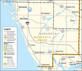 florida map sarasota southwest florida water management district sarasota