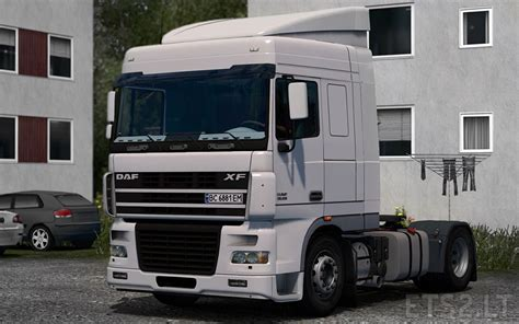 Interior Wall Stickers daf xf 95 space cab euro 3 ets 2 mods