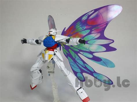 Turn A Gundam Wd M01 Hg 1144 Bandai moonlight butterfly wing effect parts w stand for hg 144 system turn a gundam ebay