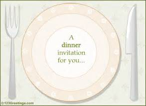 a dinner invitation free entertaining ecards 123 greetings