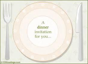 dinner invitation template free a dinner invitation free entertaining ecards