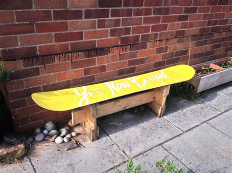 snowboard benches snowboard bench alternative uses for snowboard gea