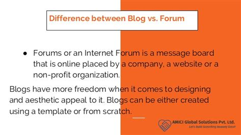 blogger vs blogspot forum vs blog