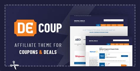themeforest deals decoup wordpress theme for coupons and deals by