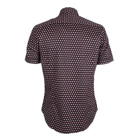 Patterned Sleeve Shirt men s sleeve patterned shirt black david wej