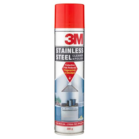 3m stainless steel cleaner polish 200g bunnings warehouse