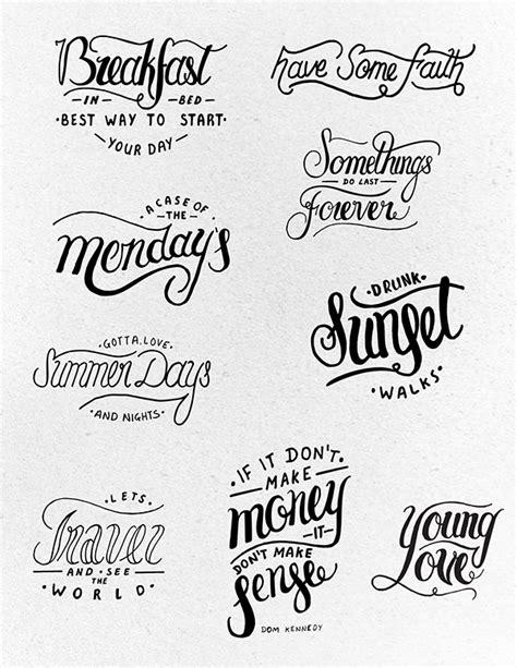 font design workshop lettering project 3 on behance