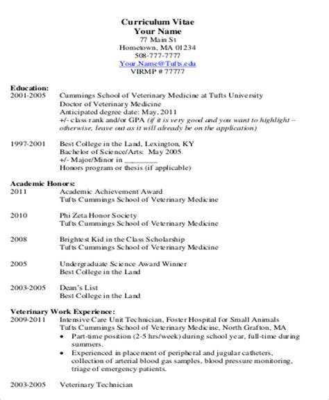 resume templates for undergraduate students student cv sle 7 exles in word pdf