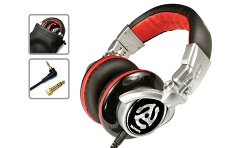 Headphone Numark wave professional mixing headphones numark