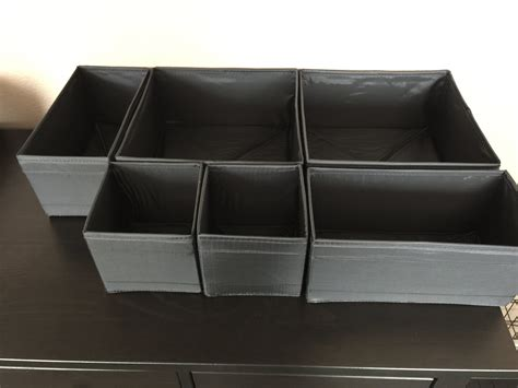 ikea drawer organizer ikea skubb drawer organizers review youtube