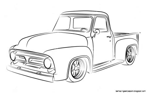 old cars drawings classic truck drawings amazing wallpapers