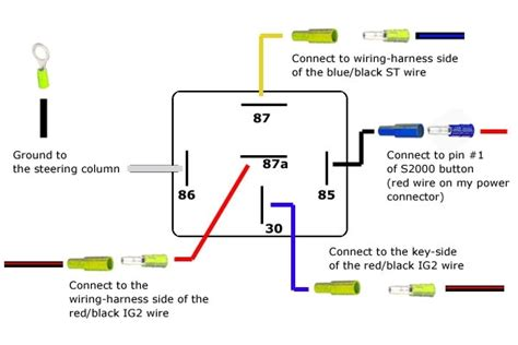 5 pin bosch relay wiring diagram wiring diagram and