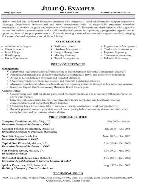 Functional Resume Sle For Career Change