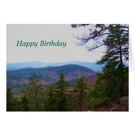 Mountain Gift Card - white mountain birthday greeting card zazzle