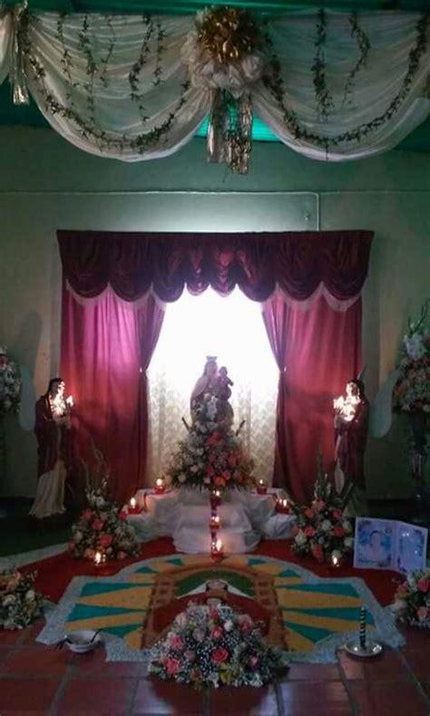 imagenes de altares de novenarios con papel altar de virgen de coromoto altares para difuntos