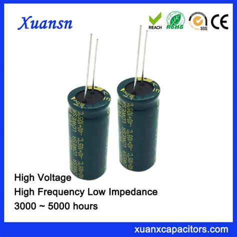 high current low voltage capacitor high voltage 180uf 400v electrolytic capacitor for adapter